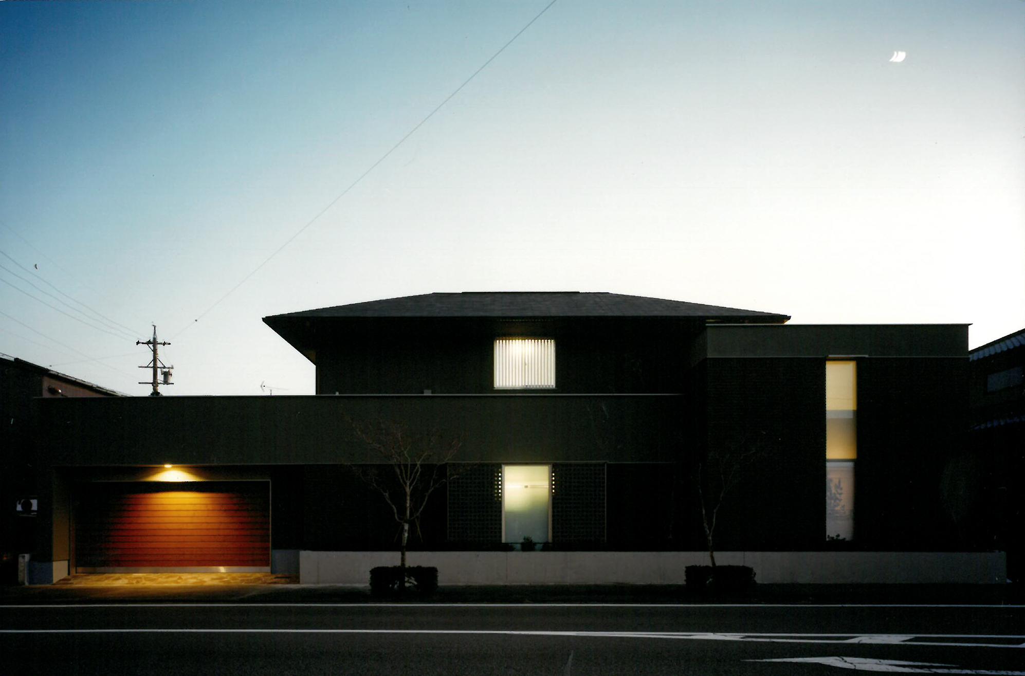 中庭のある家(設計:コーア設計)