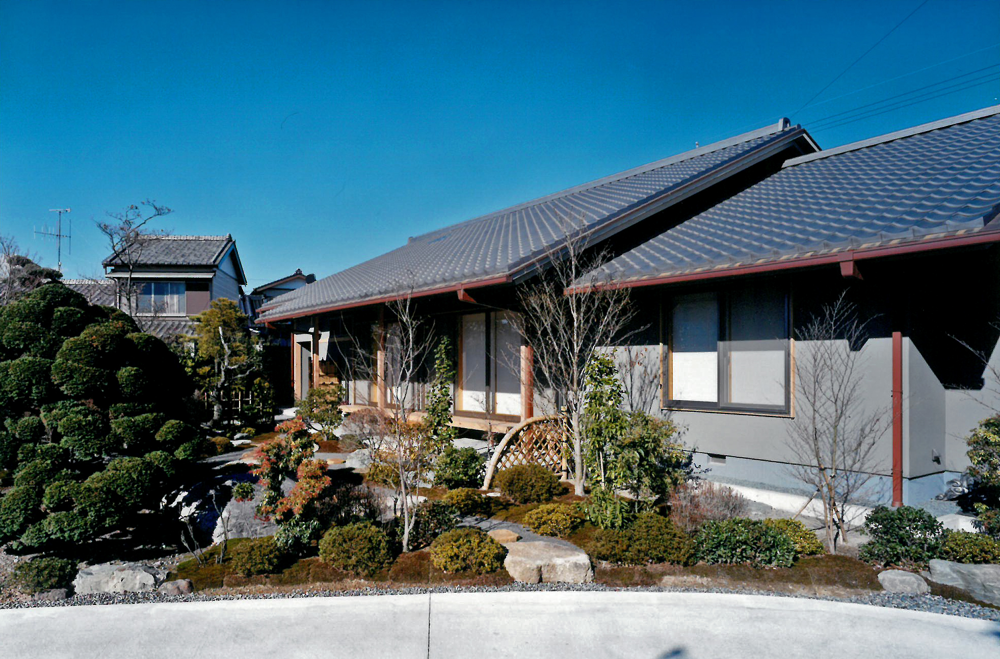 中溝川の家(設計:コーア設計)